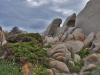 rock formations at Capo Testa